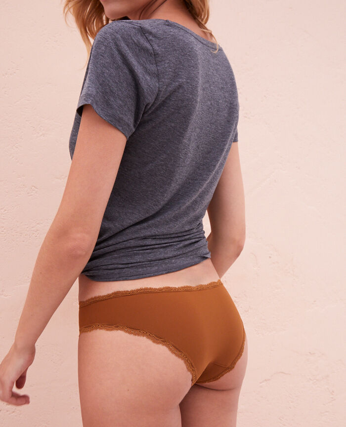 Culotte taille basse Bronze Take away