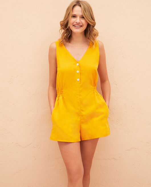 Playsuit Sahara yellow Badi