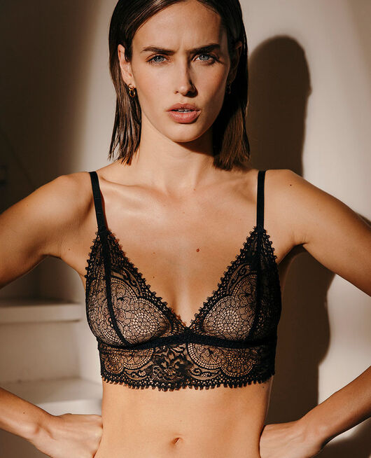 Soft cup bra Black Chic