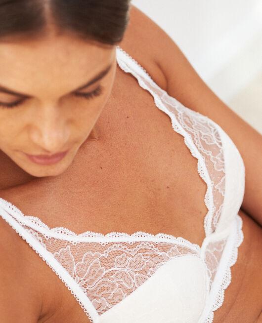 Special demi push-up bra Ivory Prestige