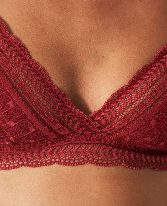 Wireless padde bra Ruby red Duo
