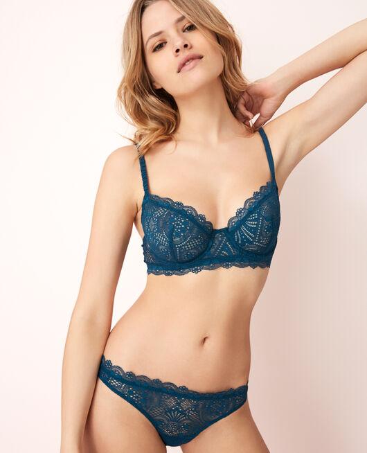 Soutien-gorge bustier Bleu sombrero Love