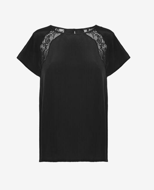 Top de pyjama Noir Divine
