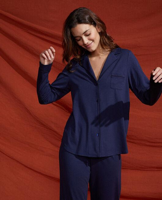 Veste de pyjama Bleu marine Dimanche