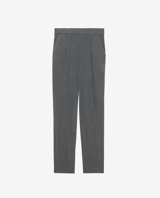 Carrot pants Flecked grey Heattech® lounge