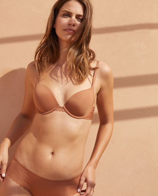 Contour push-up bra Nutmeg brown Secret