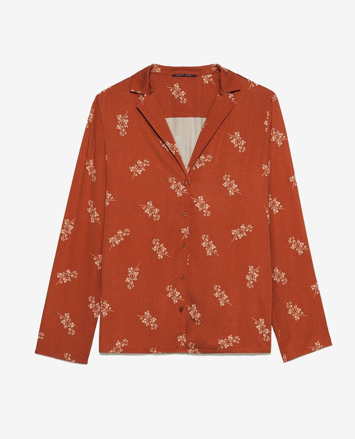 Pyjama jacket Gingerbread gem Attitude imprime