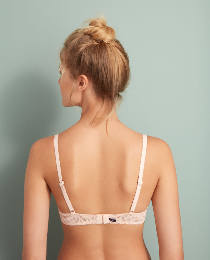 Soutien-gorge push-up mousses Rose glace Angelina