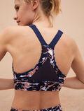 Sports bra medium support Chabi navy blue Run