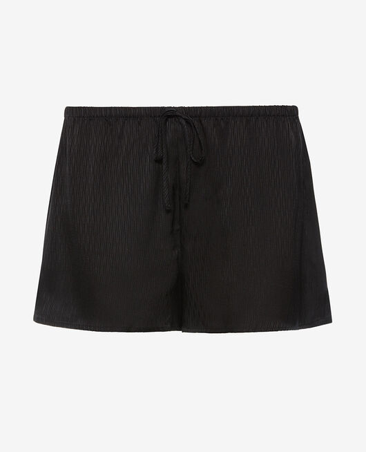 Short de pyjama Noir Fancy