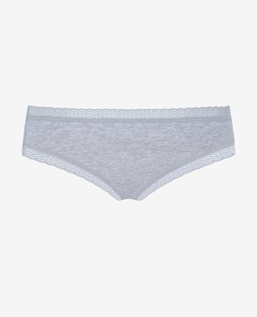 Culotte taille basse Gris chiné Echo