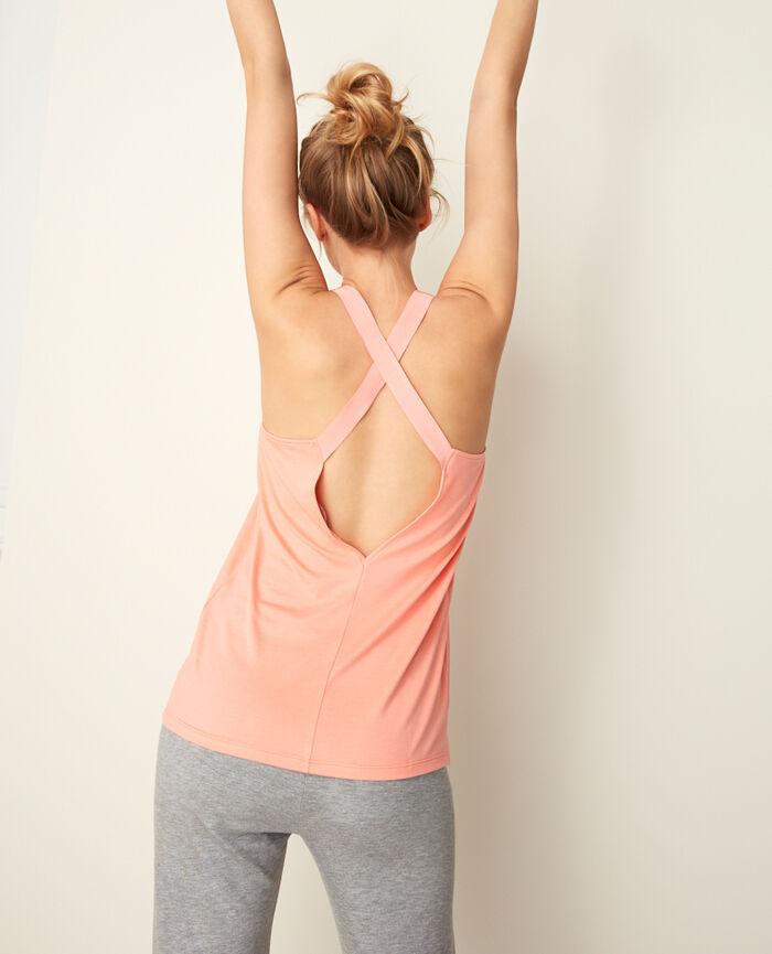 Sport tank top Grapefruit pink Yoga
