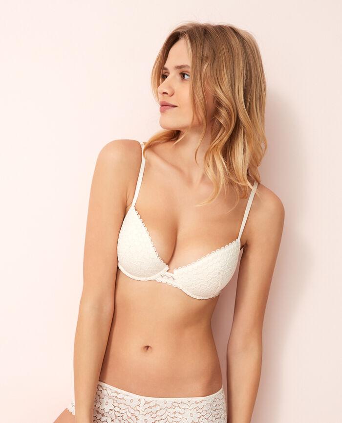 Half-cup padded bra Rose white Monica