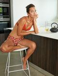 Culotte fantaisie Yoga brun Take away