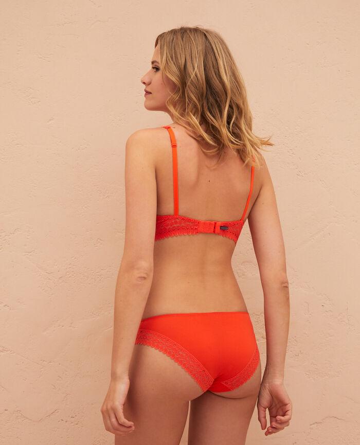 Culotte taille basse Orange sanguine Monica