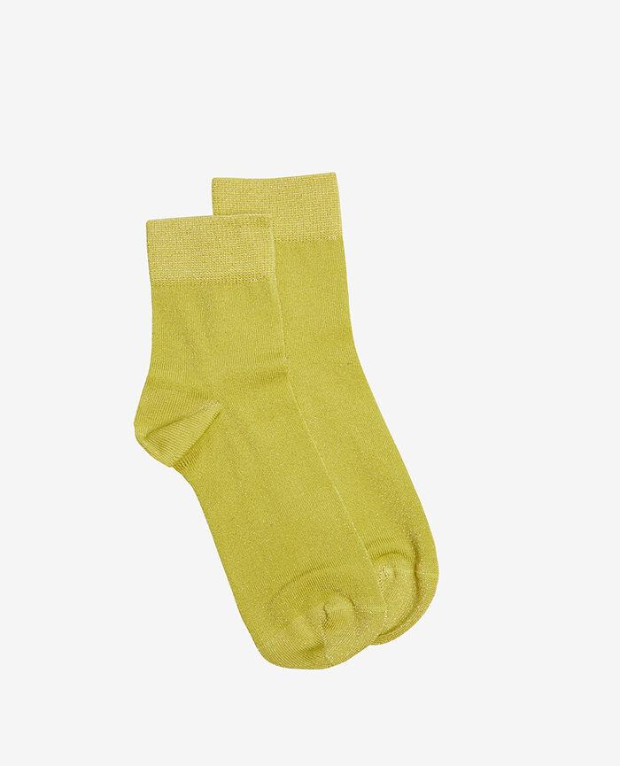 Socks Yellow travolta Glow