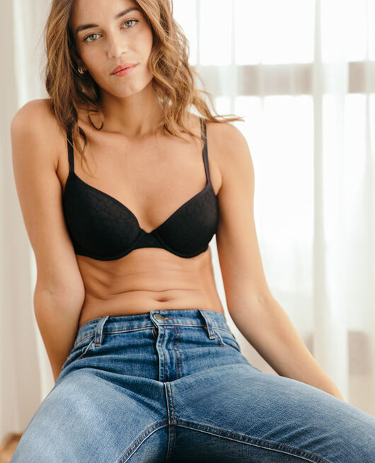Half-cup bra spacer Black Birdy