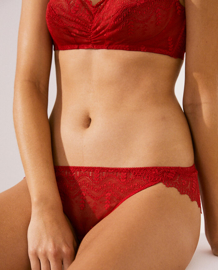 Hipster briefs Idol red Amour