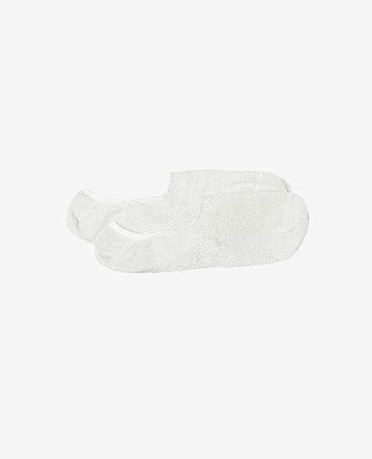 Chaussettes invisibles Lurex argent Glitter