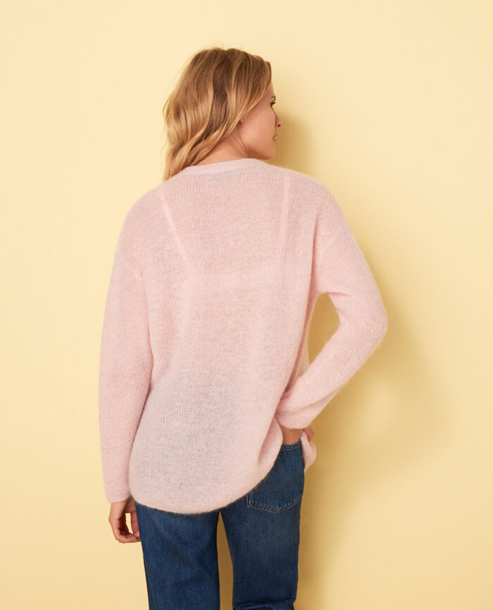 Cardigan manches longues Rosa Delicate