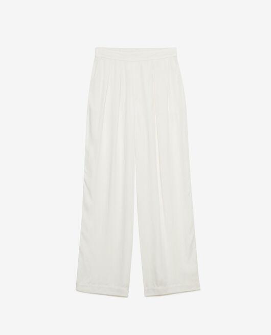 Pantalon Blanc rosé Attitude
