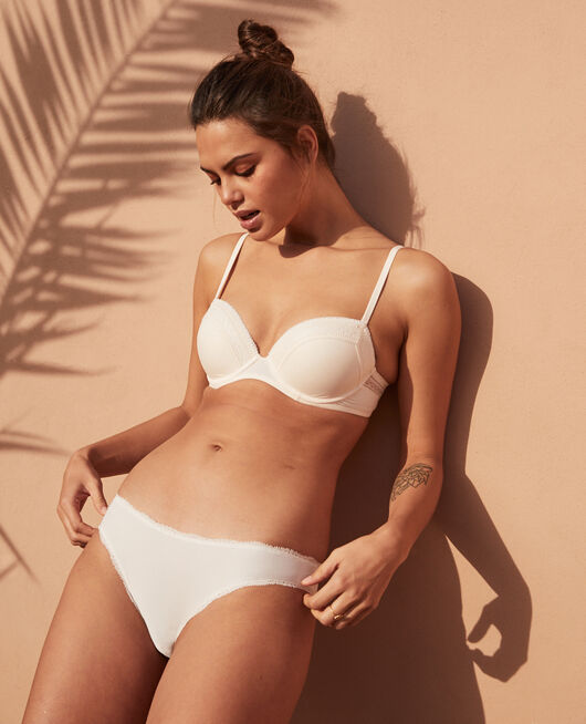 Hipster briefs Ivory Take away