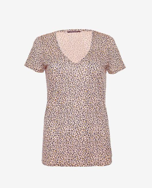 Short sleeve t-shirt Leo rose Latte