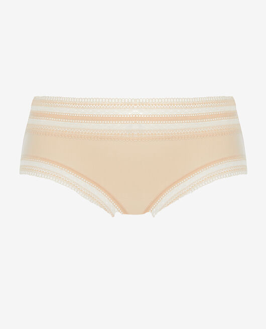 High-waisted briefs Powder Eclat