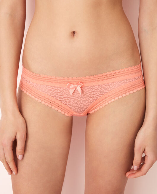 Culotte taille basse Pamplemousse rose Belle