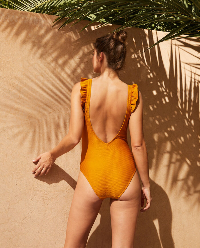 Swimsuit Cumin yellow Farah