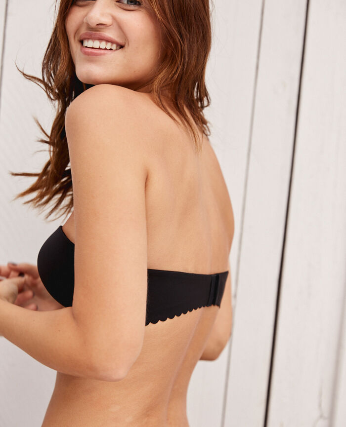 54c67280ee9f7 Contour strapless bra Black - Secret