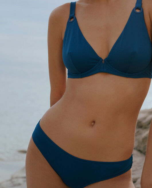 Underwired triangle bikini top Sombrero blue Impala