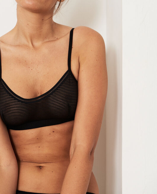 Soft cup bra Black Horizon