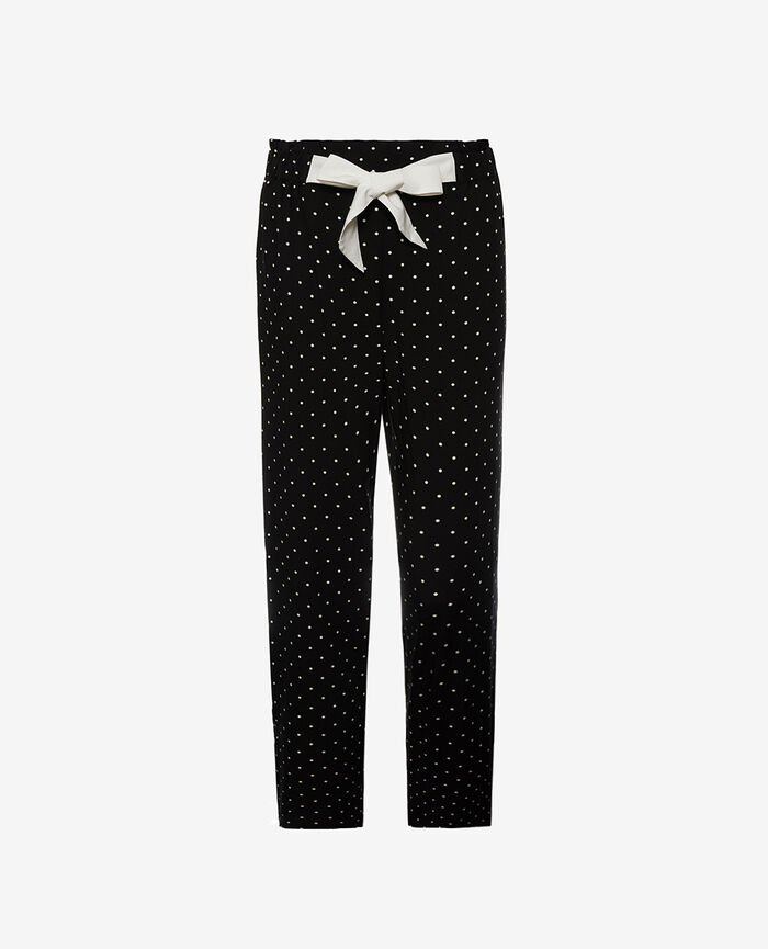 Trousers Dots black Constellation