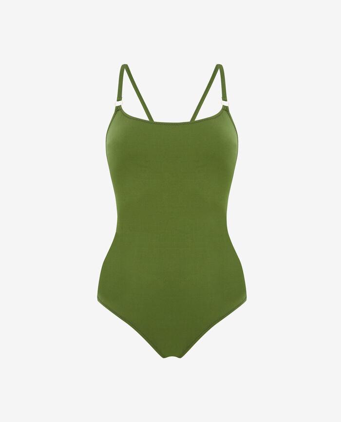 Maillot de bain une pièce Vert philo Numa
