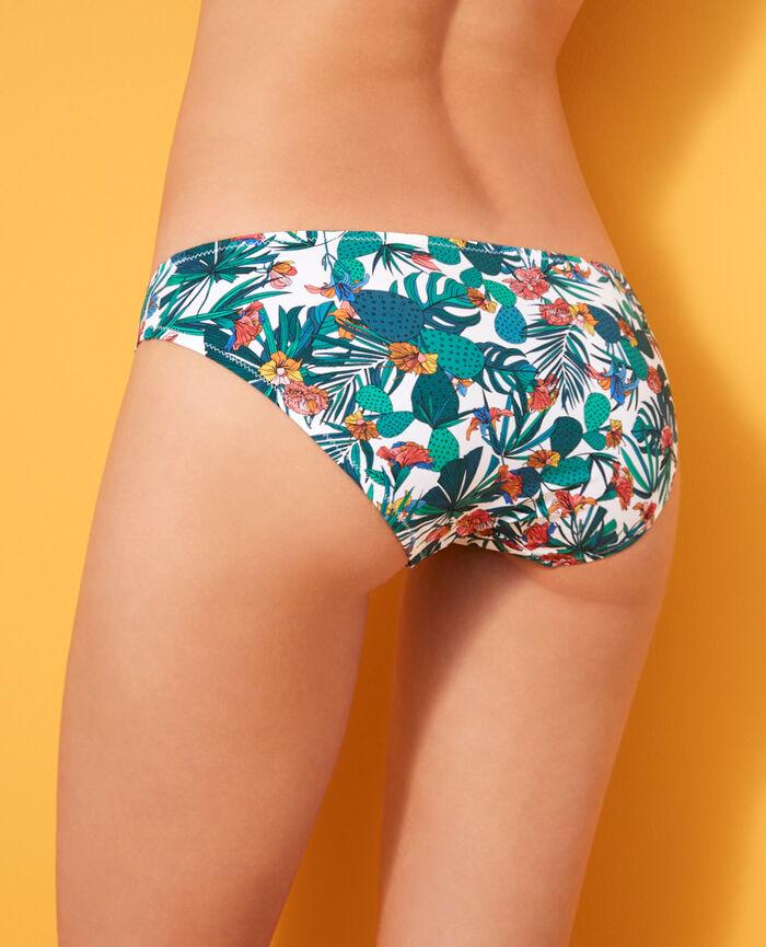 Culotte de bain taille basse Multicolore Frida