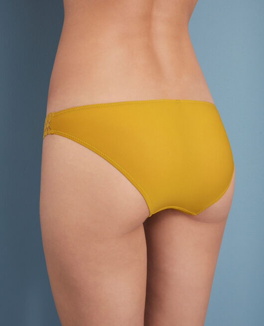 Culotte taille basse Jaune pickles Monica