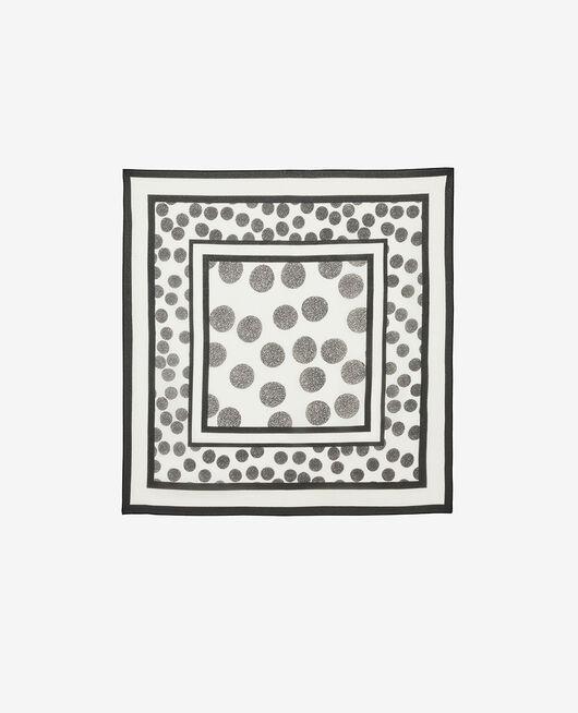 Scarf Ivory polka dots Artifice