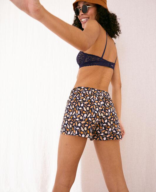 Pyjama shorts Navy blue shell Tamtam shaker