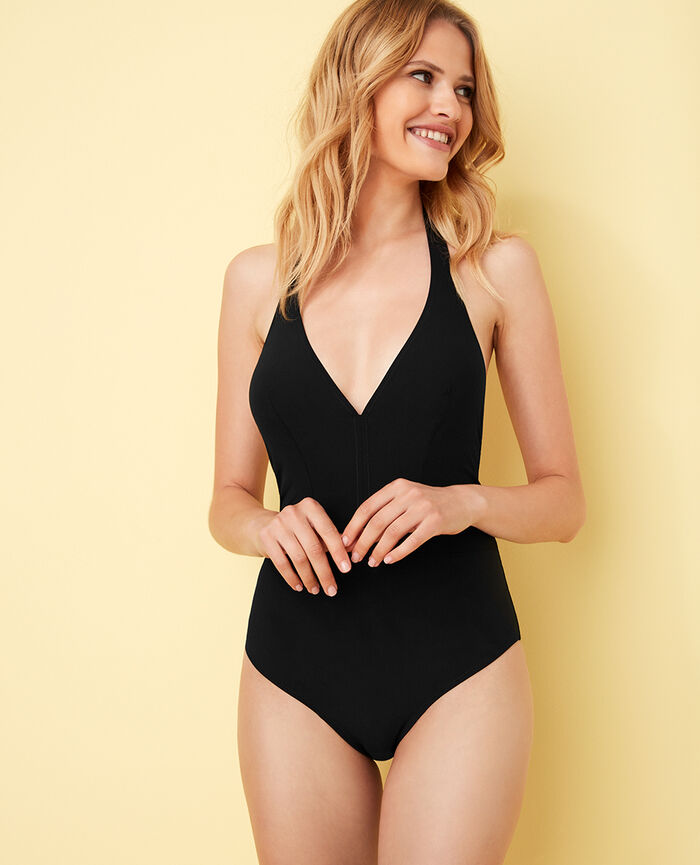 Badeanzug neckholder Black Body swim