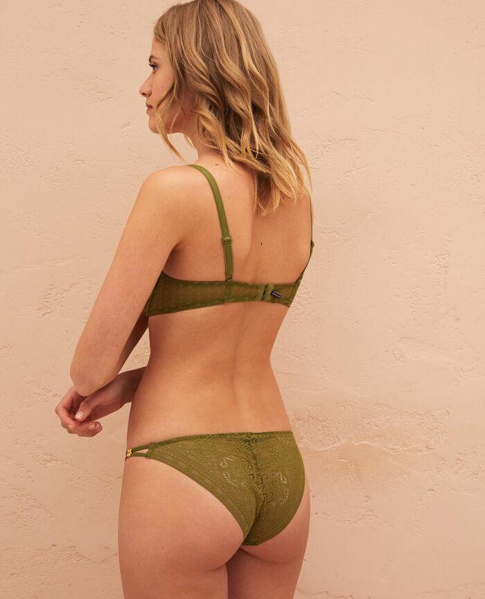 Culotte taille basse Vert oasis Atlas