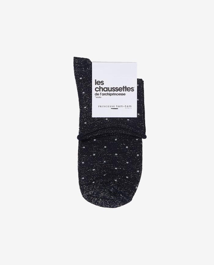 Socks Navy Petra