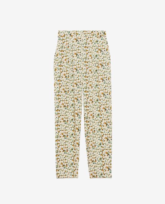 Trousers Garden green tulip Attitude imprime