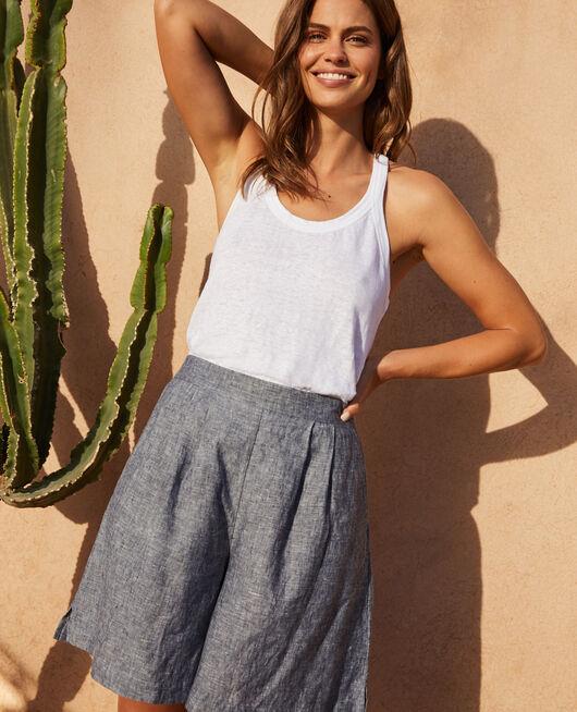 Shorts Navy Chic lin