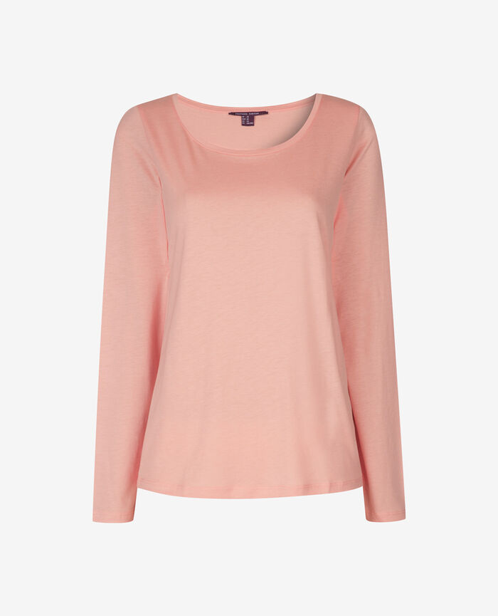 T-shirt manches longues Rose nuage Emy
