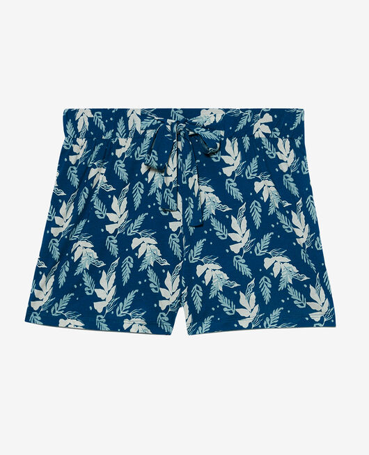 Pyjama shorts Arum sombrero blue Tamtam shaker