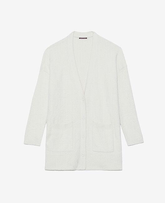 Long bathrobe Rose white Vip