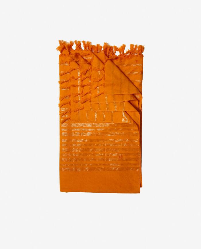 Paréo Orange maya Shiny