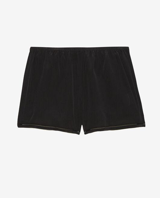 Short de pyjama Noir Caresse
