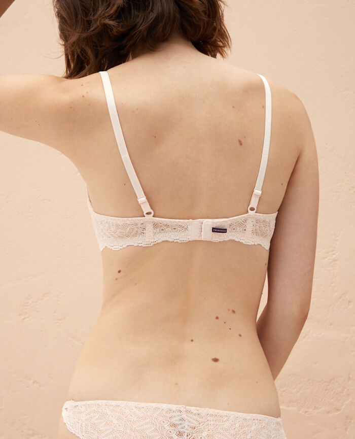 Soutien-gorge push-up mousses Rose craie Muse